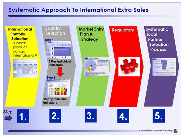 5 pharma steps to additional international sales