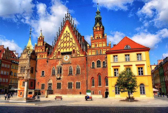 Poland Wrocław City Hall by Adam Smok