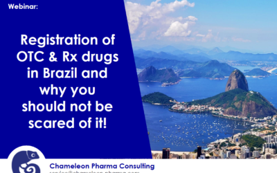 Webinar on Registration of OTC & Rx drugs in Brazil and Fast-track process!